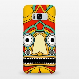 Galaxy S8+  indian tribal mask by TMSarts