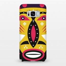 Galaxy S8+  kuba tribal mask by TMSarts
