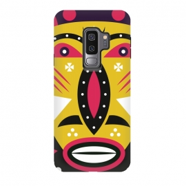 Galaxy S9 plus  kuba tribal mask by