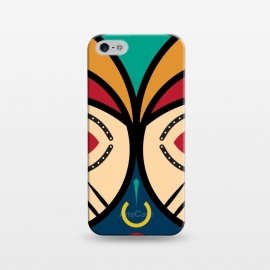 iPhone 5/5E/5s  Pende tribal Mask by TMSarts