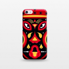 iPhone 5C  ceremonial tribal mask by TMSarts