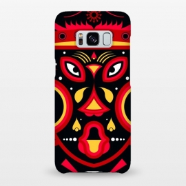 Galaxy S8+  ceremonial tribal mask by TMSarts