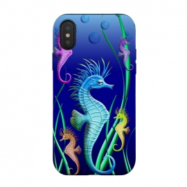 iPhone Xs / X  Seahorses Underwater Scenery by BluedarkArt (seahorse, seahorses, sea, animal, marine, sealife, underwater, cute, cartoon, water, ocean, marine life, aquatic, fish, bubbles, blue, symbol, green, liquid, brand, aquarius, aquarium, specimen, fins, elegant, elegance, symbolic, undersea, submarine, beauty, delicate, sea life, ocean life, cute seah)