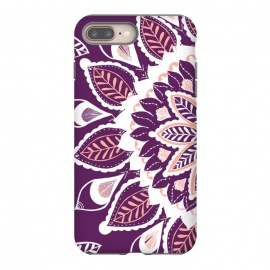 Live Freely  by Rose Halsey (nature,floral,flower,purple,pink,mandala,hippie,boho,pretty)