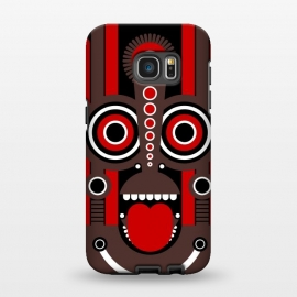 Galaxy S7 EDGE  tiki tribal mask by TMSarts