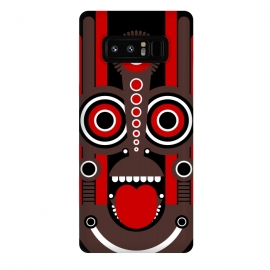 Galaxy Note 8  tiki tribal mask by TMSarts