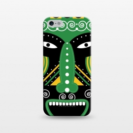 iPhone 5/5E/5s  ritual tribal mask by TMSarts
