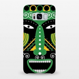 Galaxy S8+  ritual tribal mask by TMSarts