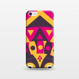 iPhone 5C  aboriginal tribal mask by TMSarts