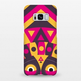 Galaxy S8+  aboriginal tribal mask by TMSarts