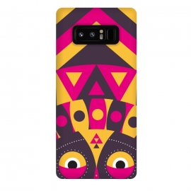 Galaxy Note 8  aboriginal tribal mask by TMSarts