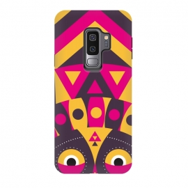 Galaxy S9+  aboriginal tribal mask by TMSarts
