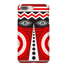 iPhone 8/7 plus  illuminati tribal mask by TMSarts