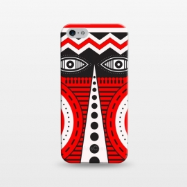 iPhone 5/5E/5s  illuminati tribal mask by TMSarts