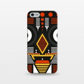 iPhone 5/5E/5s  bobo tribal mask by TMSarts