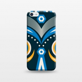 iPhone 5C  lulua tribal mask by TMSarts