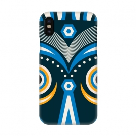 iPhone X  lulua tribal mask by TMSarts
