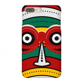 iPhone 8/7 plus  totem tribal mask by TMSarts