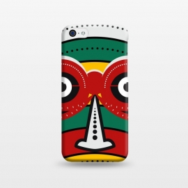 iPhone 5C  totem tribal mask by TMSarts