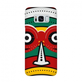 Galaxy S8  totem tribal mask by TMSarts