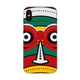 iPhone X  totem tribal mask by TMSarts