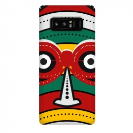 Galaxy Note 8  totem tribal mask by