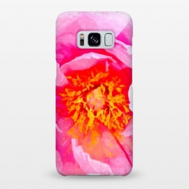 Galaxy S8+  Peony Macro Illustration by Alemi