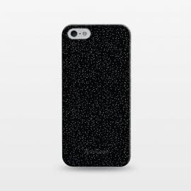 iPhone 5/5E/5s  Glitter by  (glitter,sky,night,black, white,texture,dots,dot)