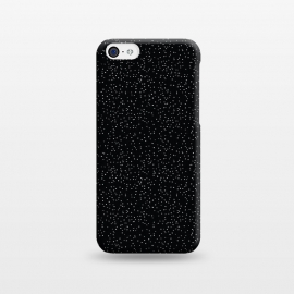 iPhone 5C  Glitter by Dunia Nalu (glitter,sky,night,black, white,texture,dots,dot)