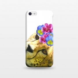 iPhone 5C  Cute Cheetah by Alemi