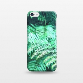 iPhone 5C  Fern Tropical Leaves by Alemi