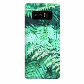 Galaxy Note 8  Fern Tropical Leaves by Alemi