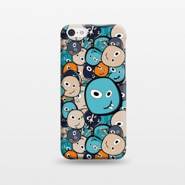 iPhone 5C  Doodle Monsters by TMSarts
