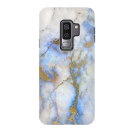 Galaxy S9+  Fresh Summer Breeze by Utart (Glitter, Stylish, Ombre, Girly, Marble, Marbled, Nature, Texture,  Geode ,Terrazzo,  Metallic, Scandi, Bohemian, Boho, Scandinavian, stone, crystal, quartz, gemstone, gem, granite,  shimmer, shimmery, shiny ,metallic,  trendy, girly, simply, simple, glitter, chrystal ,ink, malachite, agate, indigo,g)
