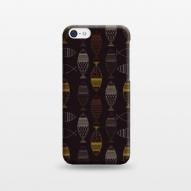 iPhone 5C  tribal fish by TMSarts
