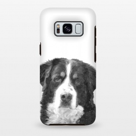 Galaxy S8 plus  Black and White Bernese Mountain by