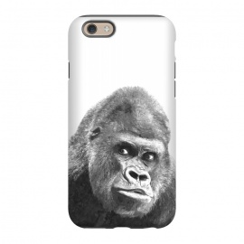iPhone 6/6s  Black and White Gorilla by Alemi