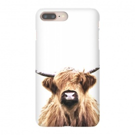 Highland Cow Portrait by Alemi