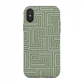 iPhone Xs / X  Grass Maze by Majoih