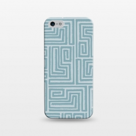 iPhone 5/5E/5s  Blue Maze by Majoih