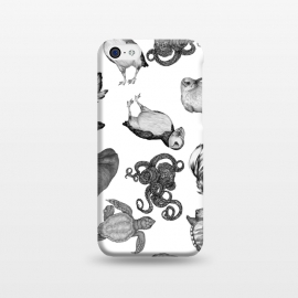 iPhone 5C  Cute Sea Animals Party by ECMazur