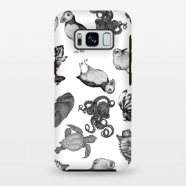 Galaxy S8 plus  Cute Sea Animals Party by