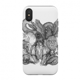 iPhone Xs / X  The Impossible Menagerie by ECMazur