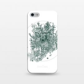 iPhone 5/5E/5s  Stag and Forest by ECMazur