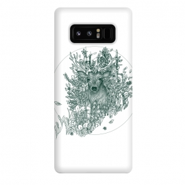 Galaxy Note 8  Stag and Forest by ECMazur