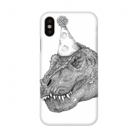 iPhone X  Party Dinosaur by ECMazur
