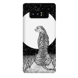Galaxy Note 8  Cheetah Moon by ECMazur