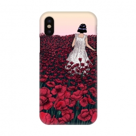 iPhone X  Field of Poppies II by