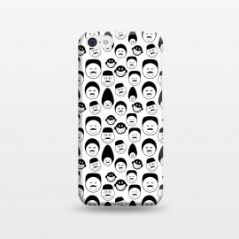 iPhone 5C  doodle faces by TMSarts