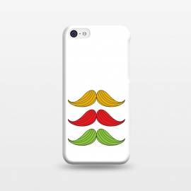iPhone 5C  mustache colors by TMSarts
